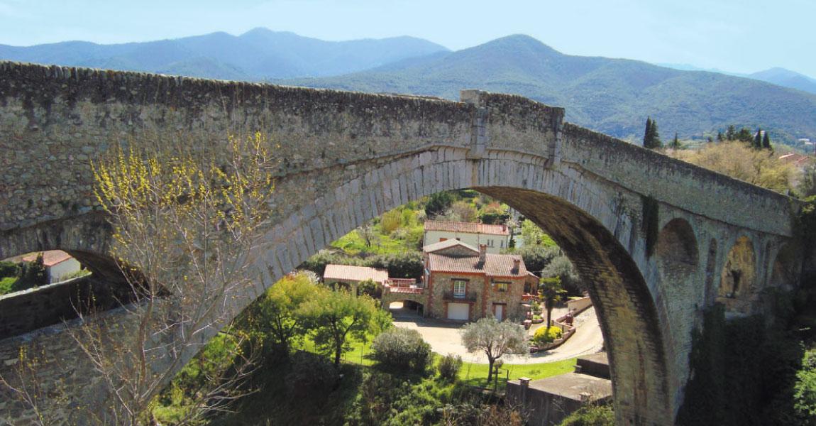 tourisme visite ceret pont