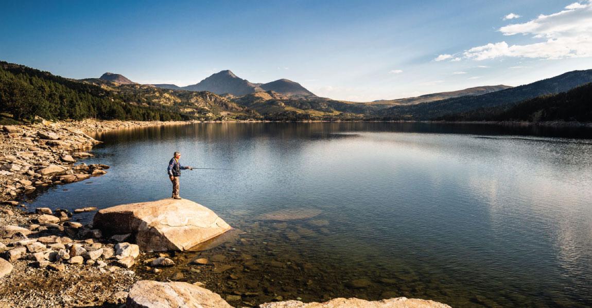 cerdagne lac peche activite sport