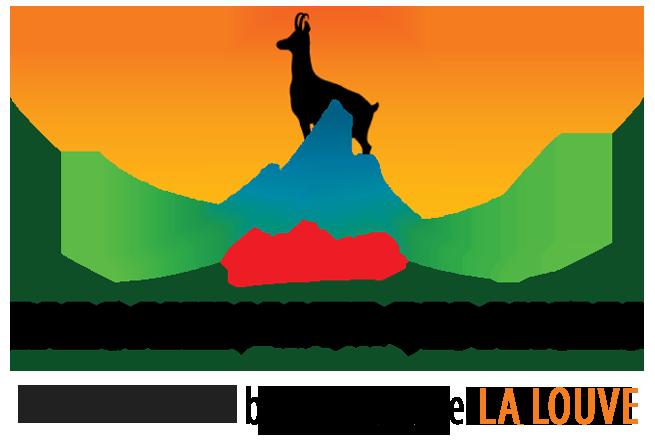 logo du parc animalier des angles et restaurant la louve