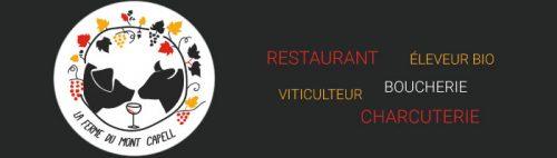 logo ferme du mont capell retaurant boucherie vallespir pyrenees roussillon orientale occitanie